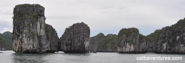Lan Ha Bay - Ha Long Bay - Bai Tu Long Bay (2 days/1 night )