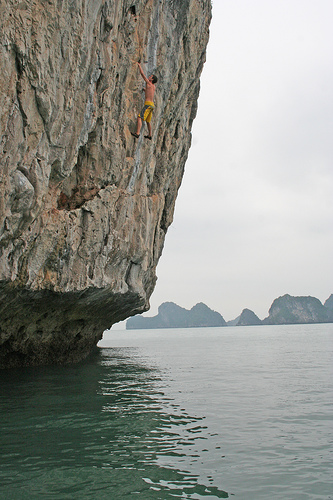 Rock Climbing In Cat Ba Island - 12